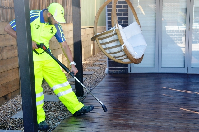 Outdoor Timber Deck Cleaning